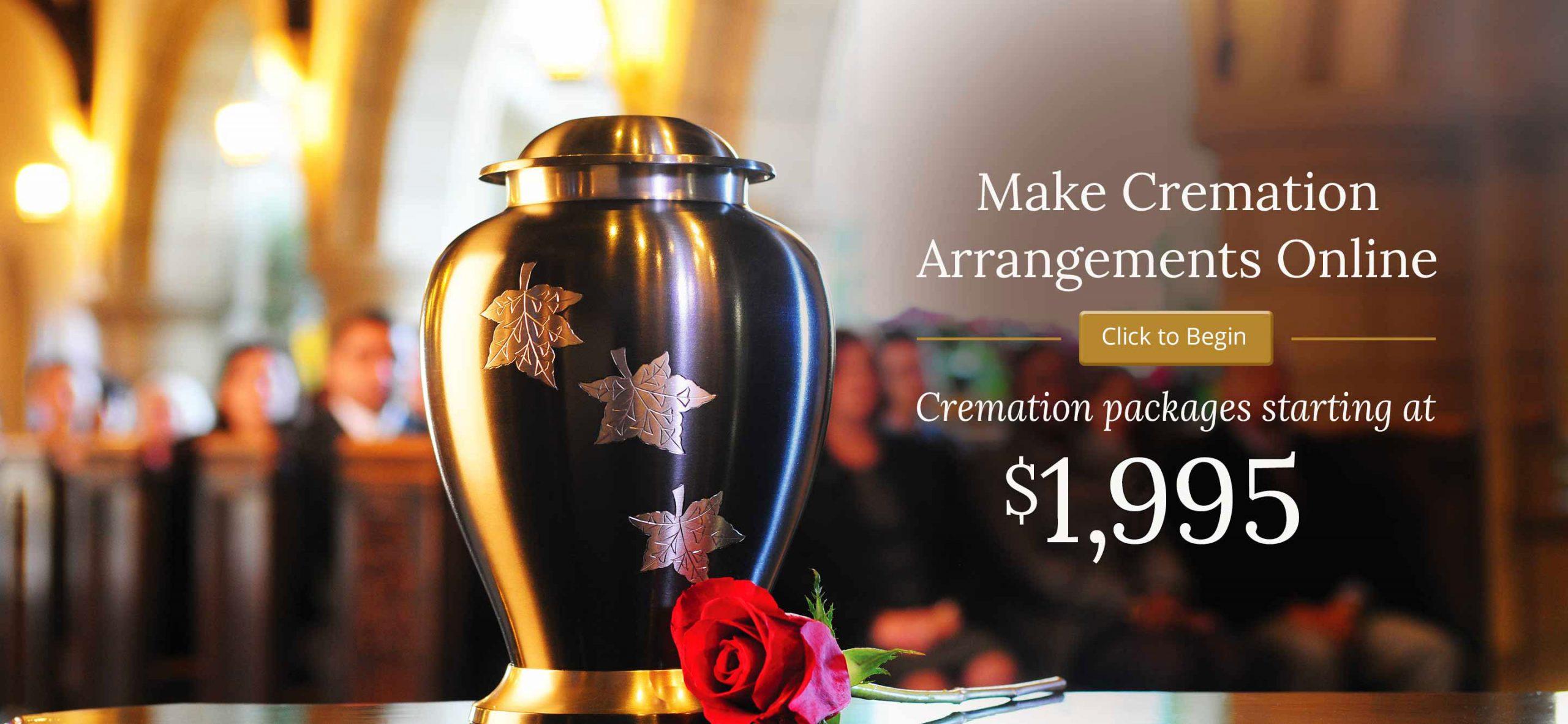 make cremation arrangements online
